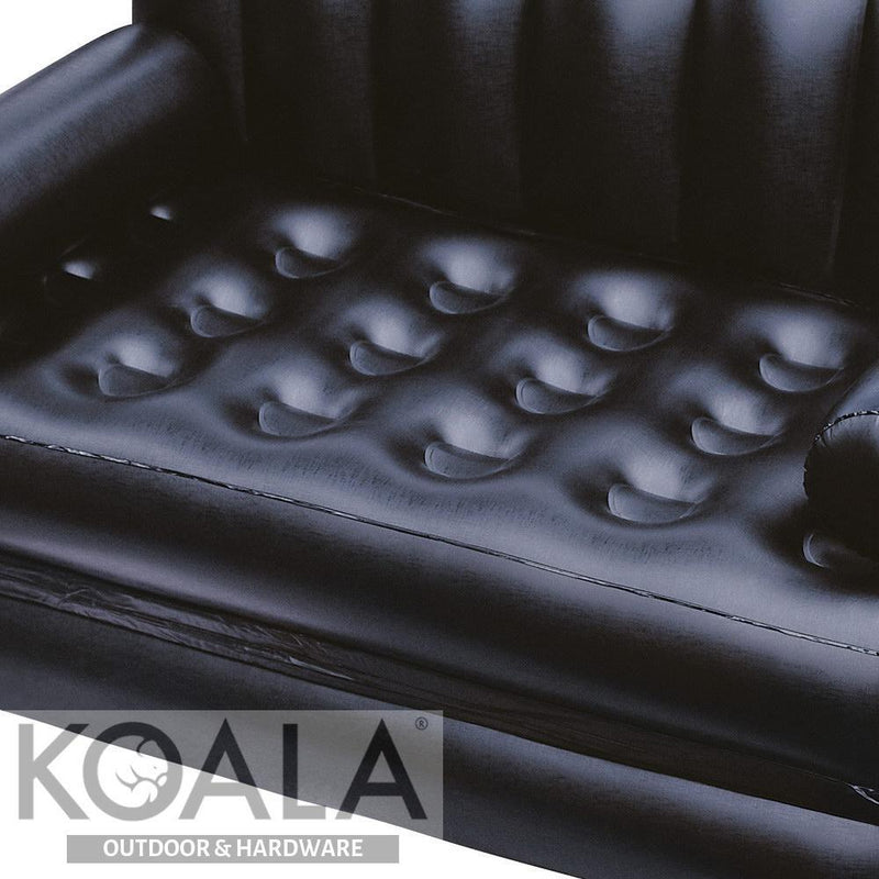 Remarkable Bestway 5 In 1 Inflatable Sofa Bed Black Andrewgaddart Wooden Chair Designs For Living Room Andrewgaddartcom