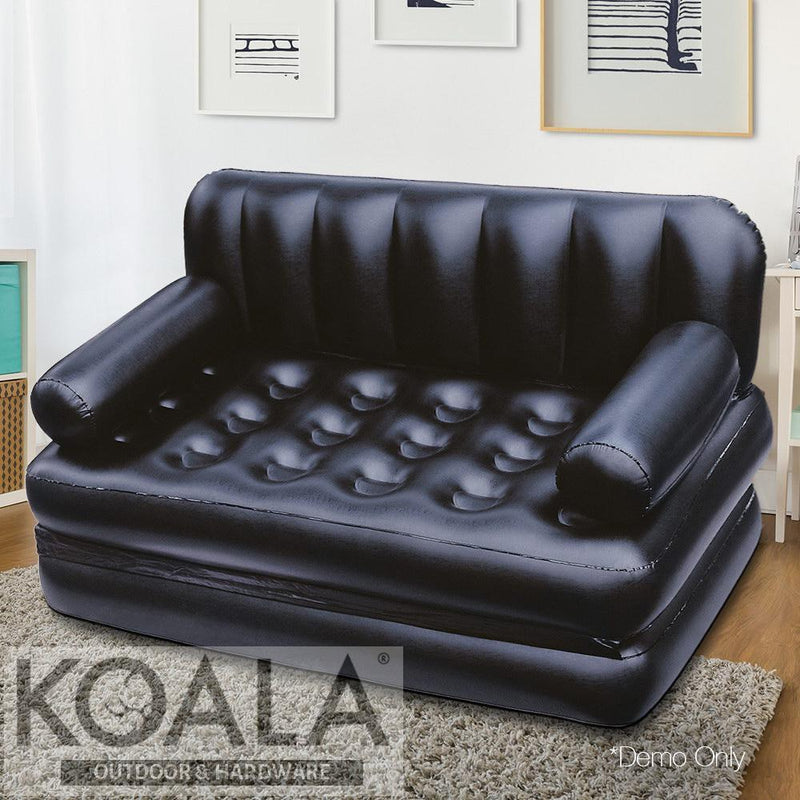 Excellent Bestway 5 In 1 Inflatable Sofa Bed Black Andrewgaddart Wooden Chair Designs For Living Room Andrewgaddartcom