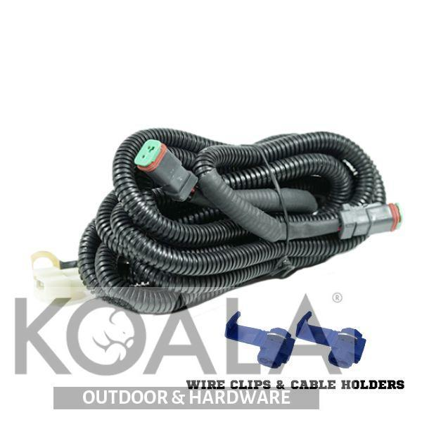 Outstanding Led Light Wiring Loom Harness Relay Kit Driving Lamp Plug Quick Fit Hi Wiring Digital Resources Indicompassionincorg