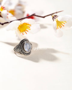 Rainbow Moonstone Ring (JR00014)
