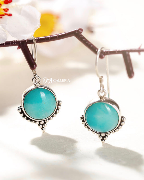 Amazonite Earrings (JE00003)