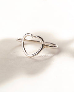 Plain Silver Ring (JR00029)