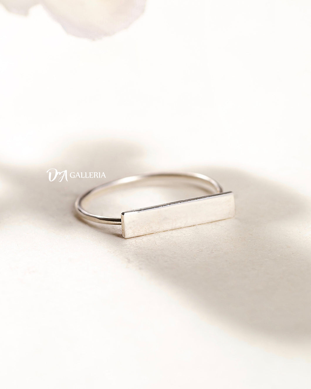 Plain Silver Ring (JR00021)