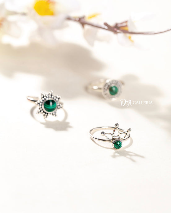 Malachite Ring (JR00024)