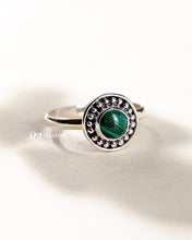 Load image into Gallery viewer, Malachite Ring (JR00007)