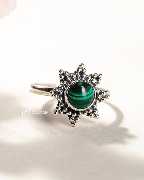 Malachite Ring (JR00006)