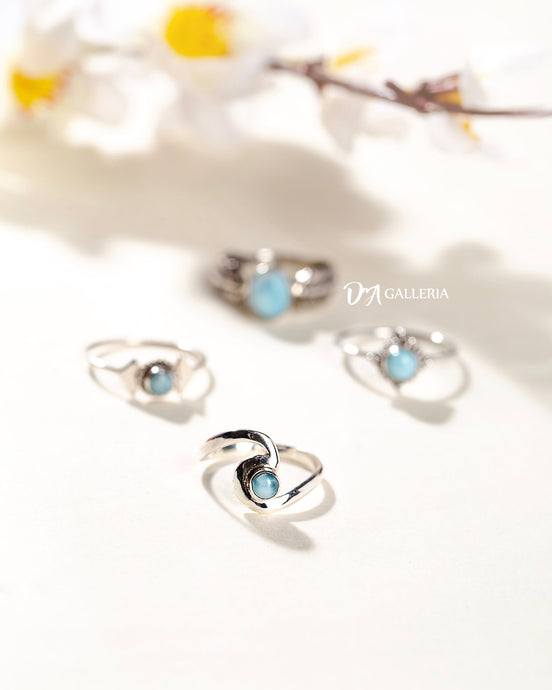 Larimar Ring (JR00010)