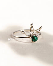 Load image into Gallery viewer, Malachite Ring (JR00024)