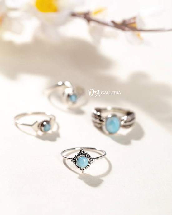 Larimar Ring (JR00019)