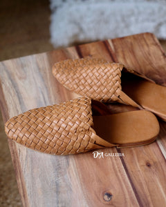 Handwoven Leather Loafer (S00001)