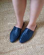 Load image into Gallery viewer, Handwoven Leather Loafer (TUAL LOAFER)