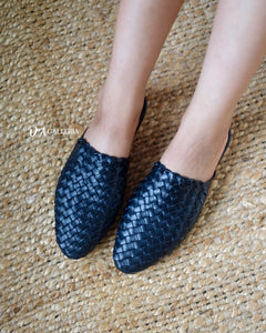 Handwoven Leather Loafer (TUAL LOAFER)