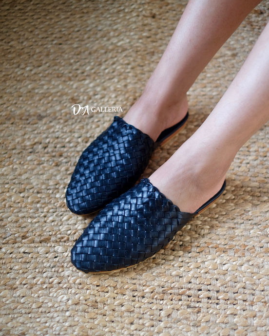 Handwoven Leather Loafer (S00002)