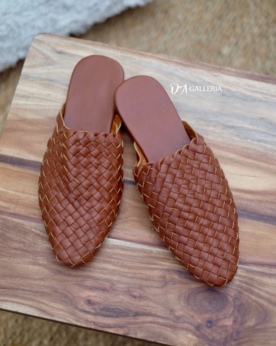 Handwoven Leather Loafer (S00003)