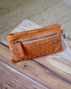 Authentic Leather Clutch Wallet (TEBING TINGGI BAG)