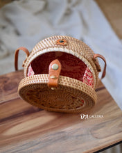 Load image into Gallery viewer, Braid Handwoven Round Rattan Bag Bali (HR00013)