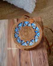 Load image into Gallery viewer, Star Wicker Handwoven Rattan Bag Bali (HR00018)