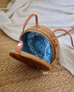 Star Wicker Handwoven Rattan Bag Bali (HR00018)