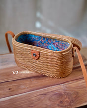 Load image into Gallery viewer, Cylinder Handwoven Rattan Bag Bali (JAMBI BAG)