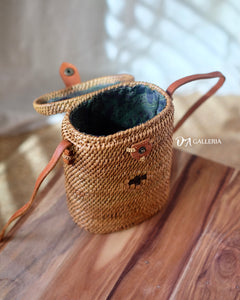 Basket Handwoven Rattan Bag Bali (HR00031)