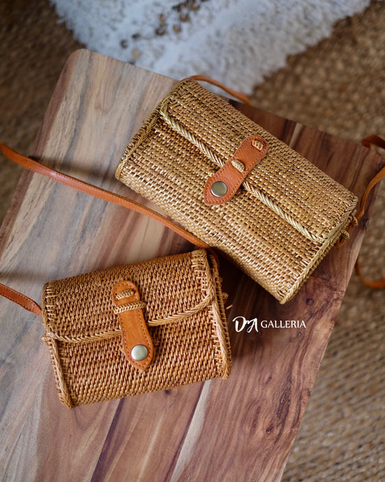 Purse Handwoven Rattan Bag Bali (HR00004)
