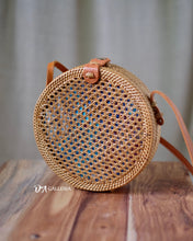 Load image into Gallery viewer, Net Handwoven Round Rattan Bag (DENPASAR BAG)
