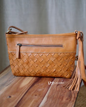 Load image into Gallery viewer, Authentic Leather Crossbody Bag (PAREPARE BAG)