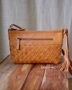 Authentic Leather Crossbody Bag (PAREPARE BAG)