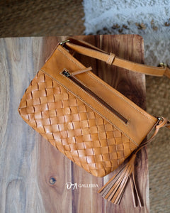 Authentic Leather Crossbody Bag (HL00017)