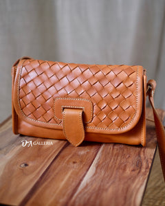 Authentic Leather Crossbody Bag (HL00010)