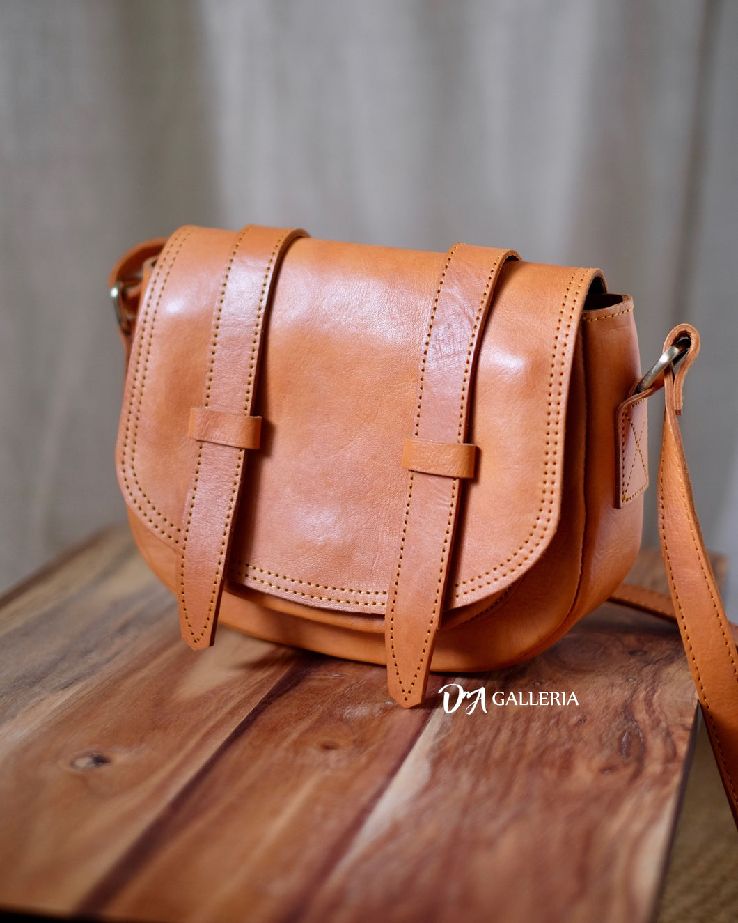 Authentic Leather Crossbody Bag (HL00007)