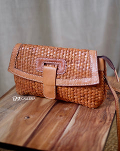 Authentic Leather Crossbody Bag (MAGELANG BAG)