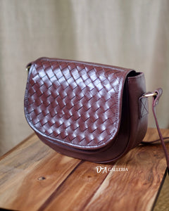 Authentic Leather Crossbody Bag (HL00012)