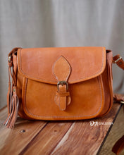 Load image into Gallery viewer, Authentic Leather Crossbody Bag (TARAKAN BAG)