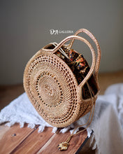 Load image into Gallery viewer, Rattan Tote Bag Bali (HR00014)