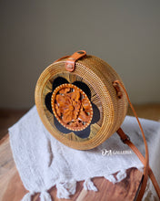 Load image into Gallery viewer, Wood Carved Rattan Bag Bali (SINGARAJA BAG)