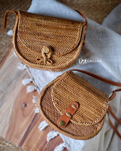 Rattan Satchel Bag Bali (HR00039)