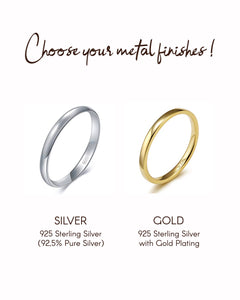 Plain Silver Ring (JR00028)
