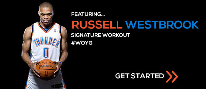 Russell Westbrook workout