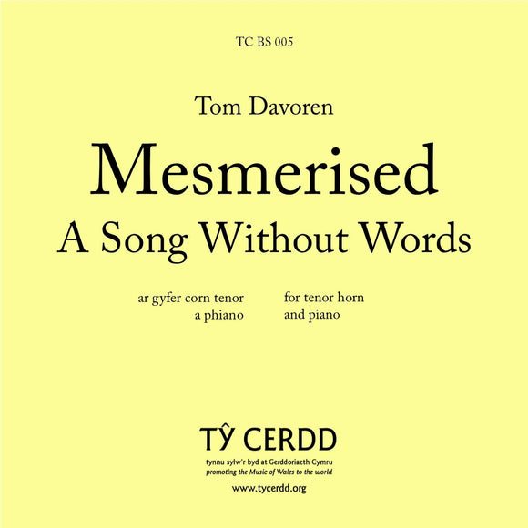 Tom Davoren - Mesmerised: A Song Without Words (Tenor horn)
