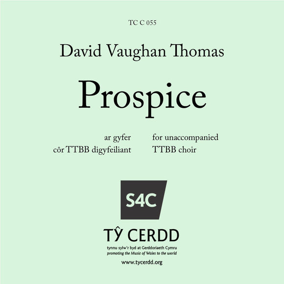 David Vaughan Thomas - Prospice (TTBB)