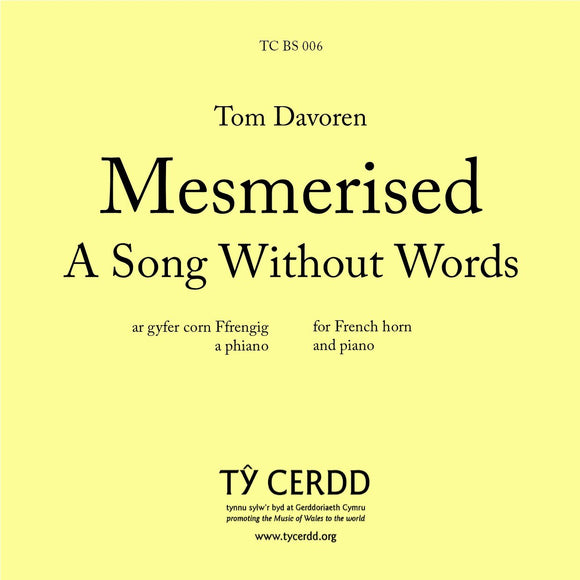 Tom Davoren - Mesmerised: A Song Without Words (French horn)