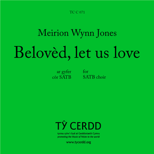 Meirion Wynn Jones - Beloved, let us love