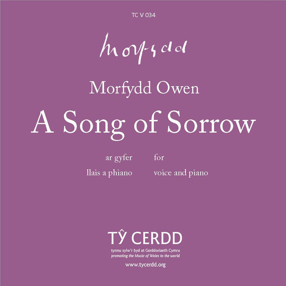 Morfydd Owen - A Song of Sorrow