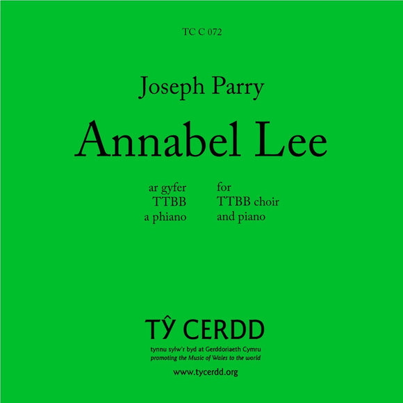Joseph Parry - Annabel Lee