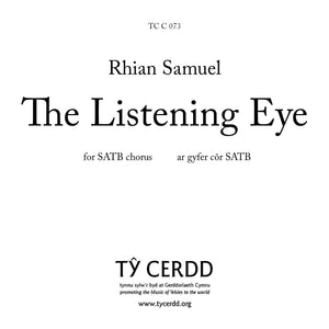 Rhian Samuel - The Listening Eye