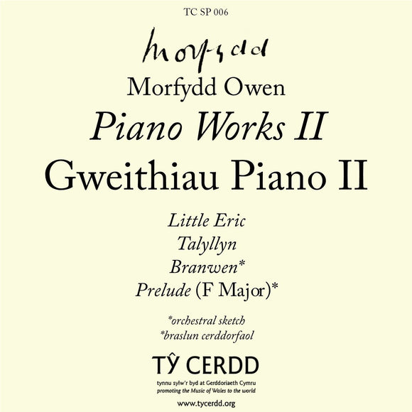 Morfydd Owen - Piano Works II