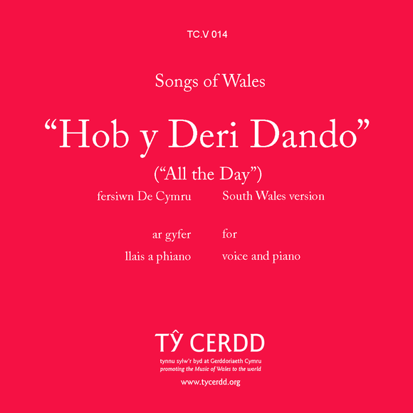 Hob y Deri Dando (South Wales version)