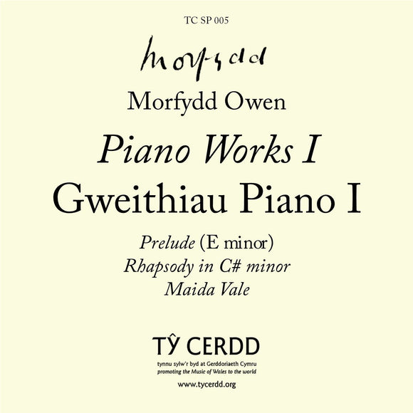 Morfydd Owen - Piano Works I