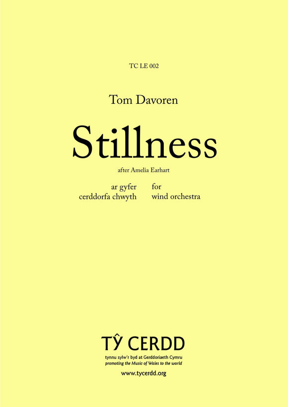 Tom Davoren - Stillness (Wind Orchestra)